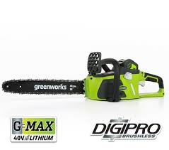 GreenWorks G-MAX 40V 16-inch DigiPro Brushless Chainsaw